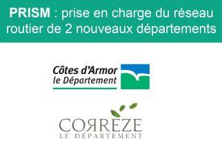 PRISM nouveaux départements